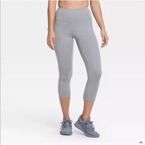 NWT All In Motion High Rise Charcoal Grey Size S